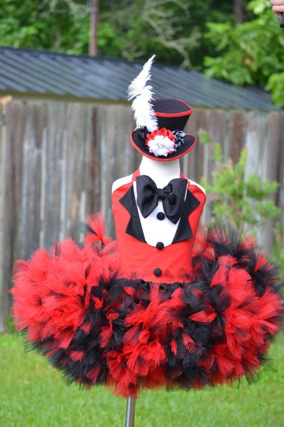ring master tutu dress costume