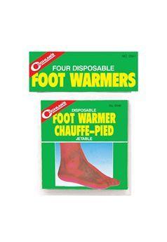 Coghlans 0047 Disposable Foot Warmers ! Buy Now at gorillasurplus.com