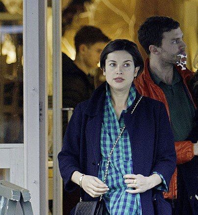 Jamie Dornan and wife Amelia Warner out in London 2/3/16 http://everythingjamiedornan.com http://www.facebook.com/everythingjamiedornan