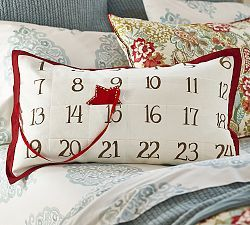 We love this cute Christmas countdown cushion! Much more keepable than a chocolate advent calender!
