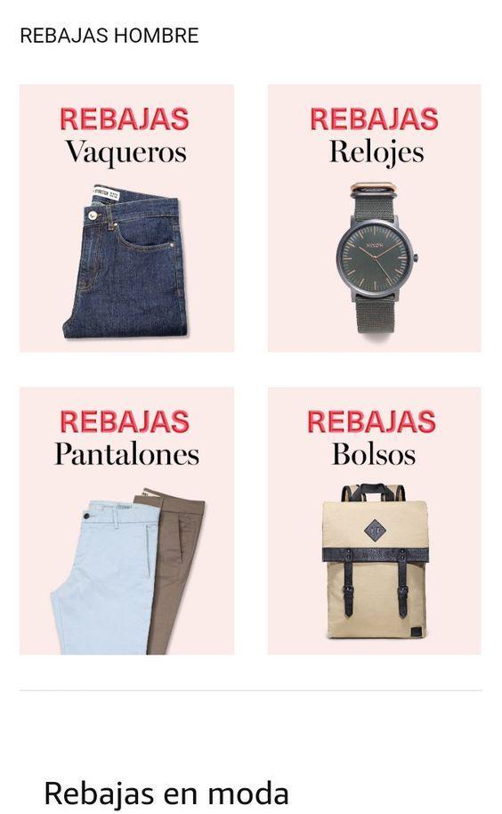 MODA en Amazon. #REBAJASAmazon   60 %   Ropa, zapatos, bolsos, relojes, joyería en  Amazon Moda. Para mujeres,hombres y niños.