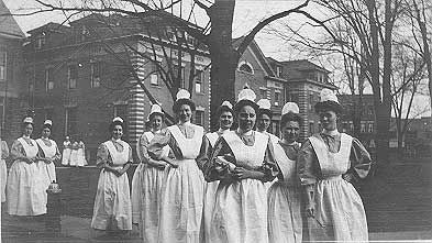 """The Nurse Practice Act    100 Years Ago, The Nurses Of Rochester Changed The World Of Nursing. The title Registered Nurse, """"R.N."""" derived from the nurse registration act of 1903. These all happened here, in Rochester New York."""