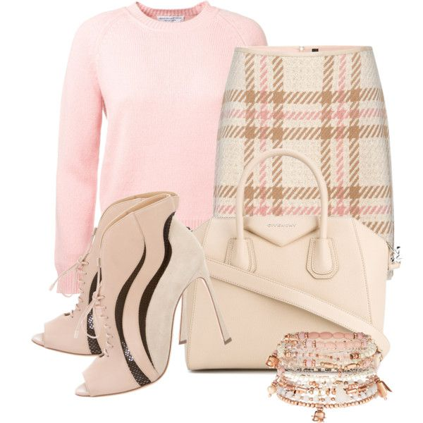 wonder years by ljbminime on Polyvore featuring мода, MARC CAIN, Sergio Rossi, Givenchy and Accessorize