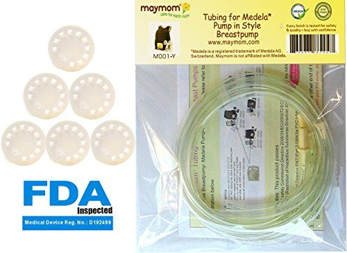 This product contains 6 #medela compatible membranes and 2 tubings designed for Medela's #Pump In Style Advanced breastpump released after July 2006. Medela has r...