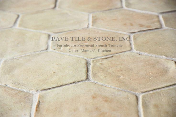 Pavé Tile, Wood & Stone, Inc. > European Terra Cotta Tile Flooring: Farmhouse Provençal French Terra Cotta Tile Flooring™