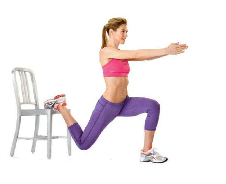 Veja como treinar em casa com ajuda de uma cadeira