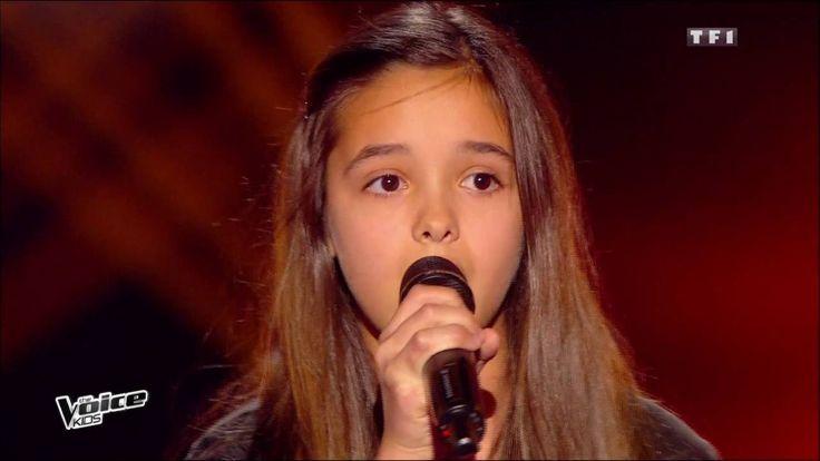 The Voice Kids 2015 | Eyma - On ira (Zaz) | Blind Audition