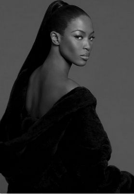 """Naomi Campbell ~ Blackglama """"What Becomes A Legend Most?"""" 2007"""