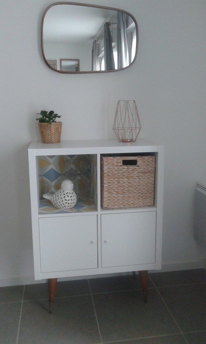 A Trendy Shelf For A Small Price Ikea Kallax Avec Images