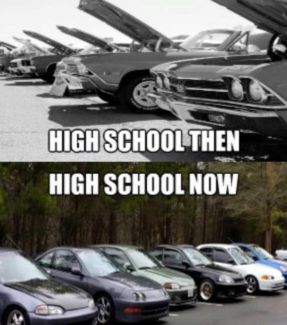 Muscle Car Memes High School Then Https Www Musclecarfan