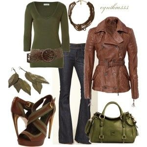 I'm so looking forward to fall: Shoes, Fall Style, Clothing, Colors, Fashionista Trends, Fall Outfits, Leather Jackets, Fall Fashion Trends, Olives