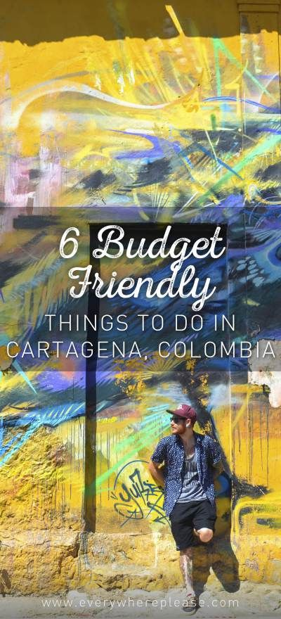 6 Budget-Friendly Things To Do In Cartagena, Colombia — Everywhere Please | Travel | Colombia | Cartagena | Things to do in Cartagena | Budget friendly travel