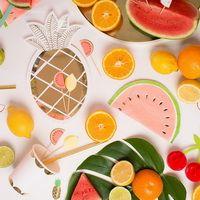 www.benbino.com | Früchte | Sommerfest | Saftbar | Gartenparty | Melone | Ananas | fruits