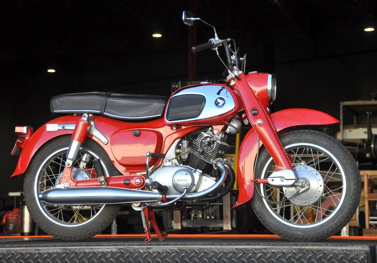 1964 Honda Ca95 Benly Touring 150 My First Motorcycle