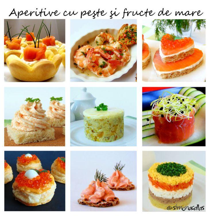 Aperitive cu peşte şi fructe de mare - simonacallas