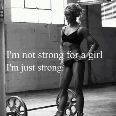 I'm just strong.: Fit Workout, Fit Women, Workout Fit, Strength Training, Beautiful Women, Girls Power, Strong Women, Fit Inspiration, Fit Motivation