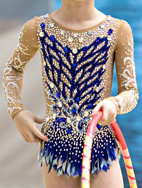 RG leotard close-up (photo by E.Matveev)