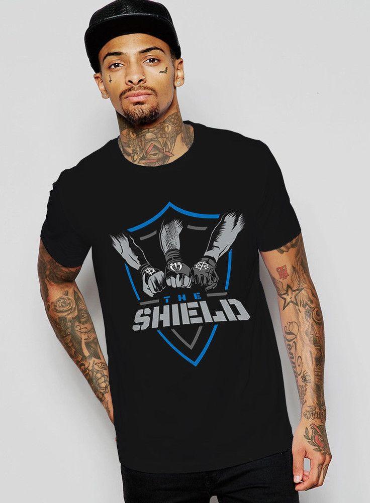 1WWE The Shield Dean Ambrose Seth Rollins Roman Reigns T Shirt Size S-2XL - http://bestsellerlist.co.uk/1wwe-the-shield-dean-ambrose-seth-rollins-roman-reigns-t-shirt-size-s-2xl/