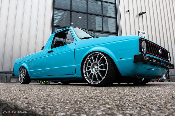 VW Caddy: Nutzfahrzeug mit Style  http://www.autotuning.de/vw-caddy-nutzfahrzeug-mit-style/ Caddy, OZ, Tuning, VW