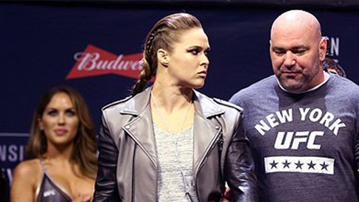 Ronda Rousey made an appearance at the UFC 205 weigh-in, but didn't get on the mic. Why'd the former bantamweight champ stay silent? #120Talk