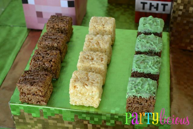 Cookies at a Minecraft Party #minecraft #cookies