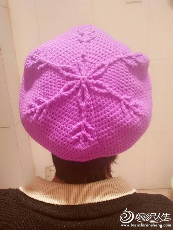 Stupendo berretto basco all uncinetto  a32734940ad6