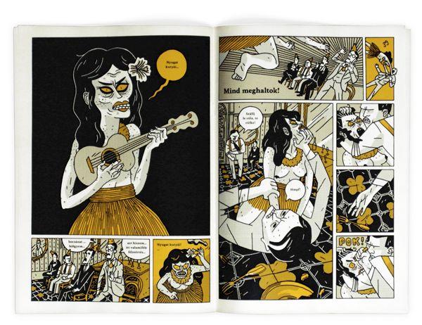 Nyugat + Zombik comics | Degree project on Behance