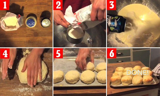 How to make scones using just three ingredients