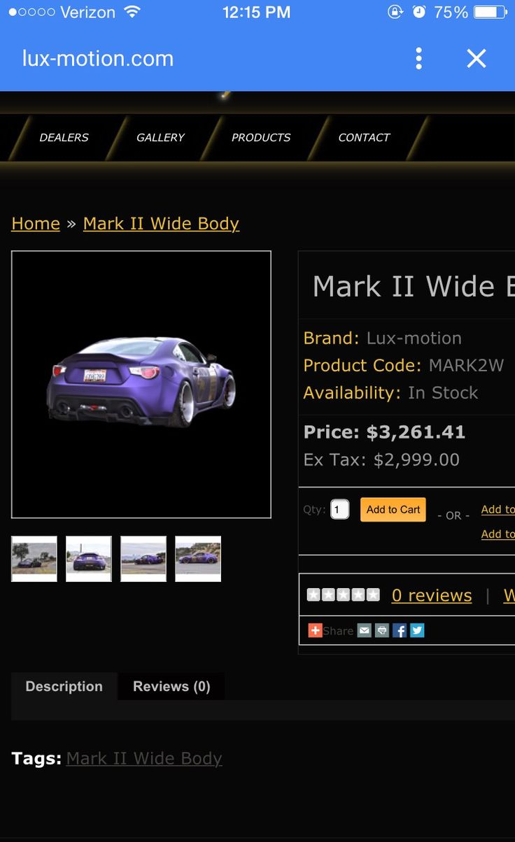 Lux motion BRZ wide body kit best $3200
