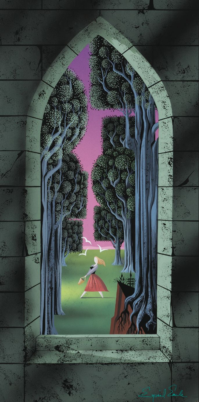Sleeping Beauty by Eyvind Earle