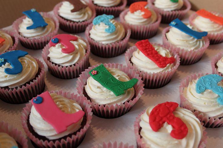 Festival cupcakes