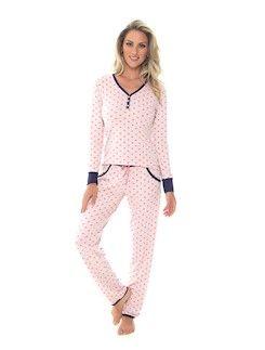 Pijama comprido de viscose stretch  COR: Est Poa Carrossel,Est Poa Noturno TAMANHO:40,42,44,46  R$ 188,80 R$ 179,36 com 5.00% de desconto em até 6x de R$ 31,47 sem juros