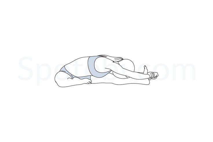 HEAD TO KNEE FORWARD BEND POSE INSTRUCTIONS