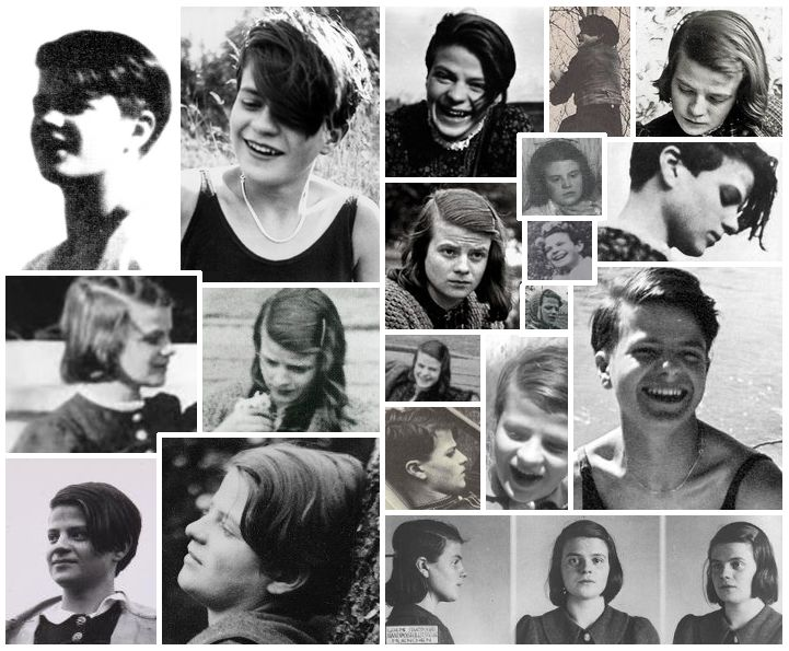 Sophie Scholl -- this is my collage! <3