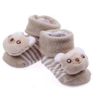 Pusat Sepatu Shop Online - Eozy Lucu Brown Bear Newborn Baby Unisex Indoor Anti-slip Hangat Socks Knitting Hewan Kartun Crib Sepatu Boots Booties | Pusat Sepatu Bayi Terbesar dan Terlengkap Se indonesia
