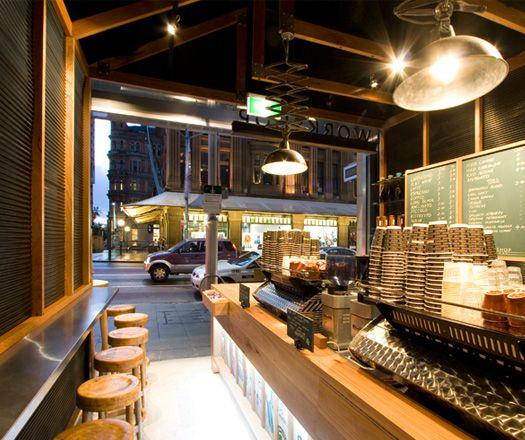 urban coffee shop design - Google Search