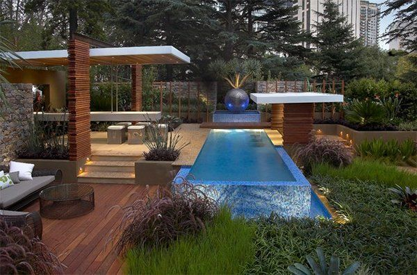 20 breathtaking ideas for a swimming pool garden