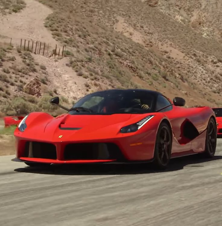 Ferrari's Fab Five Brought To The Racetrack By Jay Leno