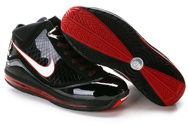 http://www.airfoamposite.com/nike-lebron-7-black-red-p-301.html Only$85.46 #NIKE #LEBRON 7 BLACK RED #Free #Shipping!
