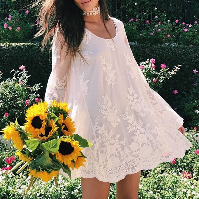 Show Me Your Mumu Fannie Flow Dress. Available at @shopplanetblue