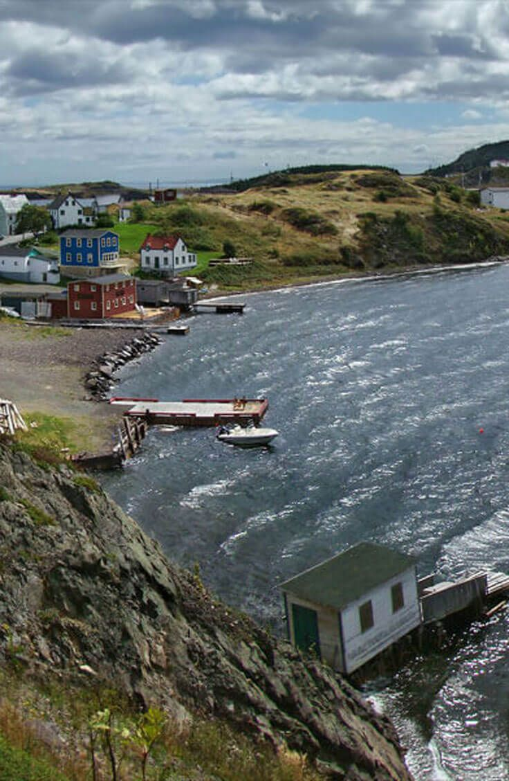 """Trinity, Newfoundland is unfailingly referred to as one of the most picturesque…"