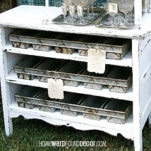 re-using industrial bread pans