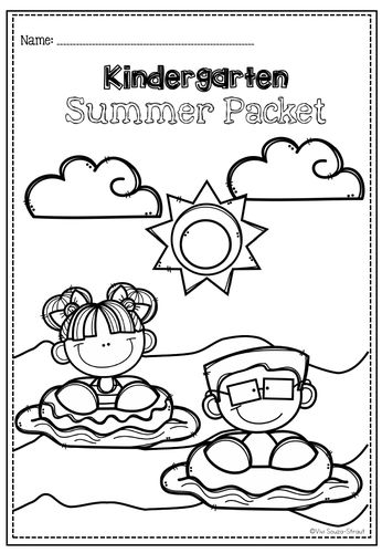 Practice Packet for Early Learners-Kindergarten Summer