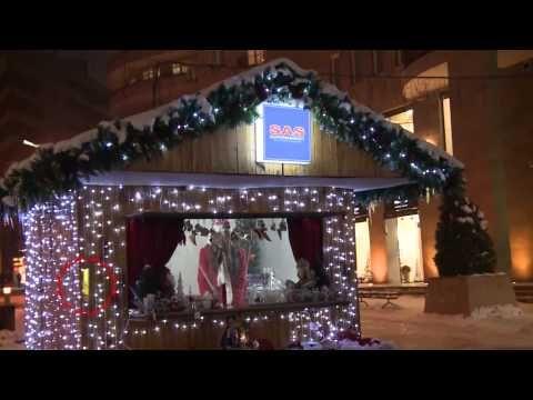 """Christmas market in Yerevan, Armenia   Ամանորյա տոնավաճառ Հյուսիսային պողոտայում - TV programm """"MAYRAQAGHAQ"""" - 21.12.2013"""