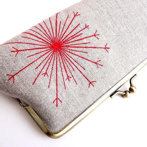 seedhead embroidery