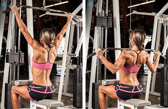 SHOULDER WIDTH PULLDOWN  Bodybuilding.com - Women & The Gym: Top 10 Mistakes & Recommendations For Improvement!