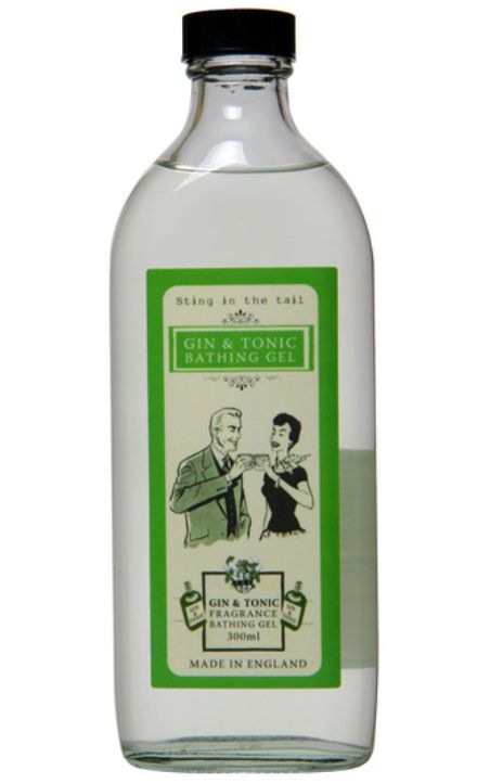 Gin lovers can now lather the sweet scent of juniper all over their naked bodies.