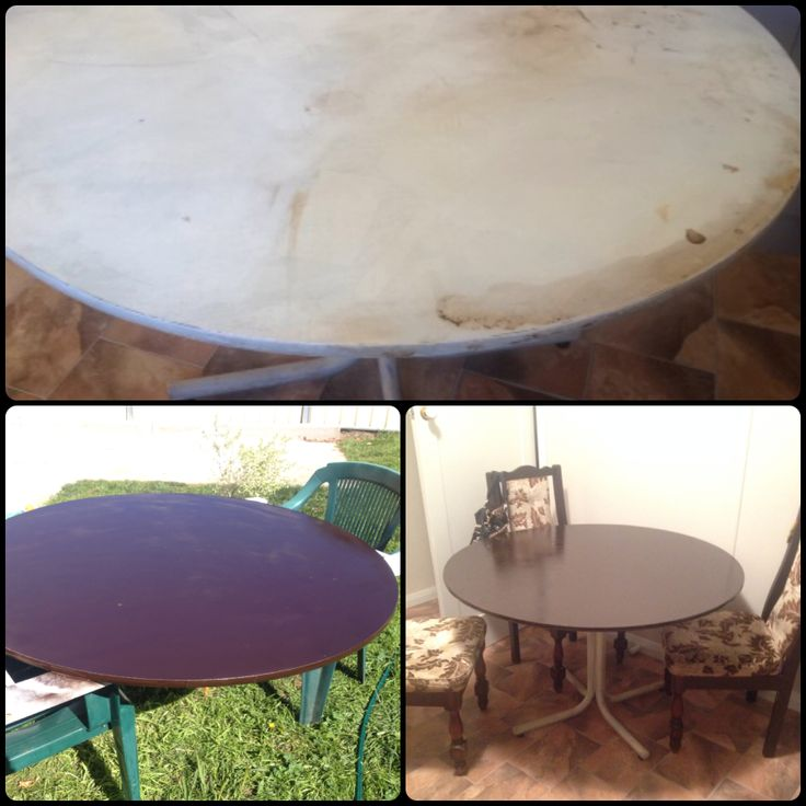 A reconditioned table