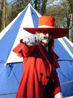 Alucard cosplay Elf Fantasy Fair 2013 Haarzuilens