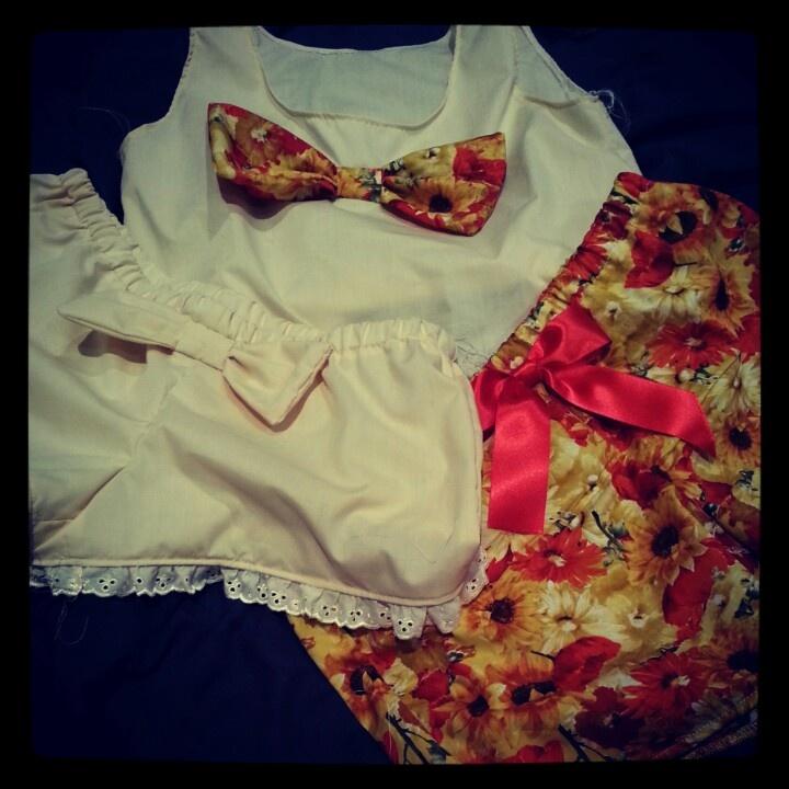#Handmade #sleepwear available tomorrow at www.etsy.com/shop/haylmaree or www.facebook.com/haymareeshop
